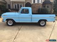 1971 Ford F-100 2 Door for Sale