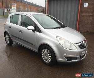 Classic 2007 VAUXHALL CORSA LIFE A/C SILVER LONG M.O.T*NOT SPARES/REPAIR*AUCTION ONLY  for Sale