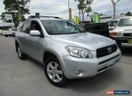 2006 Toyota RAV4 ACA33R Cruiser Silver Automatic 4sp A Wagon for Sale