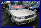 Classic 1997 Nissan Maxima A32 30G Gold Automatic 4sp Automatic Sedan for Sale