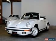 Porsche: 911 Convertible for Sale