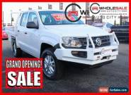 2011 Volkswagen Amarok TD1400 4MOT White Manual M Utility for Sale
