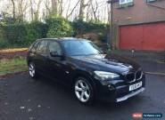 2010 BMW X1 SDRIVE 18D SE BLACK 5 DOOR for Sale