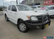 2007 Toyota Hilux KUN26R MY07 SR White Manual 5sp M 4D Utility for Sale