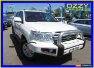 2008 Toyota Landcruiser VDJ200R Sahara (4x4) White Automatic 6sp A Wagon for Sale