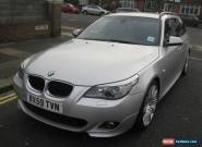 2010 BMW 520D M SPORT BUSINESS EDN SILVER/6 SP MANUAL for Sale