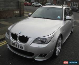 Classic 2010 BMW 520D M SPORT BUSINESS EDN SILVER/6 SP MANUAL for Sale