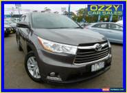 2014 Toyota Kluger GSU55R GX (4x4) Grey Automatic 6sp A Wagon for Sale
