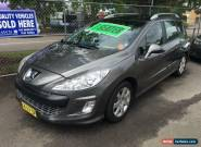 2008 Peugeot 308 Touring XSE Turbo Grey Automatic 4sp A Wagon for Sale