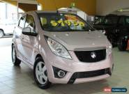 2011 Holden Barina Spark MJ MY11 CDX Pink Manual 5sp M Hatchback for Sale