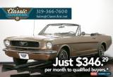 Classic 1966 Ford Mustang Convertible C Code for Sale