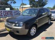 2004 Ford Territory SX TX (RWD) Black Automatic 4sp A Wagon for Sale