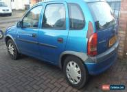 2000 VAUXHALL CORSA CLUB 16V BLUE for Sale