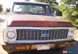 Classic 1971 Chevrolet Other Pickups base, 2 door for Sale