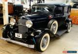 Classic 1932 Ford Deluxe Sedan - 2nd owner car for Sale