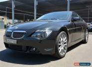 2005 BMW 645Ci E3 2 Door V8 Automatic Coupe for Sale