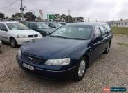 2004 Ford Falcon BA Futura Blue Automatic 4sp A Wagon for Sale