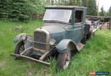 Classic 1928 Chevrolet Original 1928 Chevrolet 1 Ton Flatbed Truck for Sale