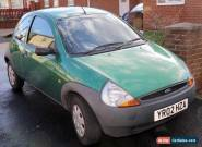 FORD KA 1.3 Petrol 02 Reg Low Milage for Sale