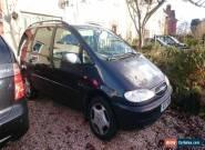 1998 FORD GALAXY GHIA X BLUE petrol manual 7 seater mpv 2.3 for Sale