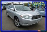 Classic 2008 Toyota Kluger GSU45R KX-S (4x4) Silver Automatic 5sp A Wagon for Sale