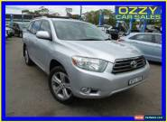 2008 Toyota Kluger GSU45R KX-S (4x4) Silver Automatic 5sp A Wagon for Sale
