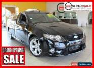 2010 Ford Falcon SUPER CAB TURBO Black Manual M Utility for Sale