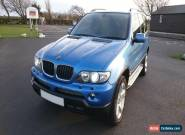 BMW X5 SPORT 3.0D INDIVIDUAL ESTORIL BLUE WITH BLACK LEATHER ONLY 120K MILES for Sale