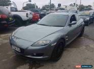 2004 Mazda RX-8 Grey Manual 6sp M Coupe for Sale