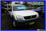 Classic 2003 Holden Rodeo TFR9 MY02 LX White Manual 5sp M Spacecab for Sale