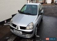2005 RENAULT CLIO RUSH 1.2 8V SILVER for Sale