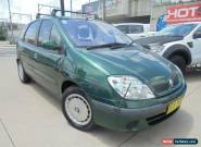 2001 Renault Scenic Expression Green Manual 5sp M Hatchback for Sale