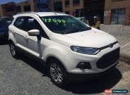 2016 Ford Ecosport BK Titanium White Automatic 6sp A Wagon for Sale