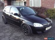 2005 VAUXHALL CORSA BREEZE BLACK for Sale