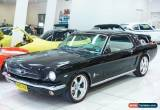 Classic 1965 Ford Mustang 289V8 Black Automatic A Coupe for Sale