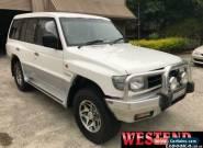 1997 Mitsubishi Pajero NL GLS White Automatic 4sp A Wagon for Sale