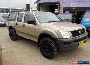 2007 HOLDEN RODEO LT DUAL CAB  3.6L 5 SP MANUAL AIR CON MUDY TYRES  for Sale