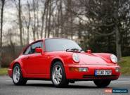 1989 Porsche 964 911 Carrera 4 for Sale