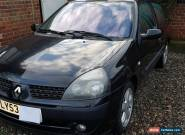 RENAULT CLIO 1.4 16V SPARES OR REPAIR for Sale