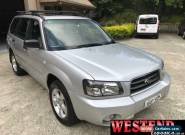 2004 Subaru Forester 79V MY04 XS Luxury Silver Automatic 4sp A Wagon for Sale