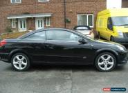 2008 VAUXHALL ASTRA TWIN TOP SPORT BLACK for Sale