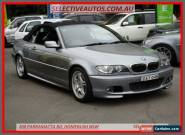 2005 BMW 325CI E46 25Ci Silver Automatic 5sp A Convertible for Sale
