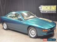 1991 BMW 8-Series Base Coupe 2-Door for Sale