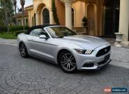 2017 Ford Mustang EcoBoost Premium Convertible 2-Door for Sale