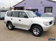 1998 TOYOTA PRADO 3.4L 5 SP MANUAL 8 SEATER LOG BOOKS WITH FULL SERVICE HISTORY  for Sale