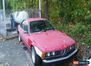 1986 BMW 6-Series for Sale