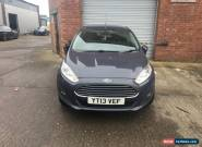 2013 FORD FIESTA 1.0 ECO BOOST for Sale