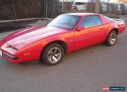1986 Pontiac Firebird Base Coupe 2-Door for Sale