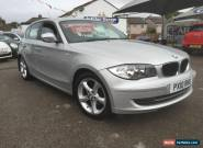 BMW 1 Series 118d Diesel 2010 SE for Sale