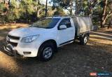 Classic holden colorado  2013 ute toolboxes  for Sale